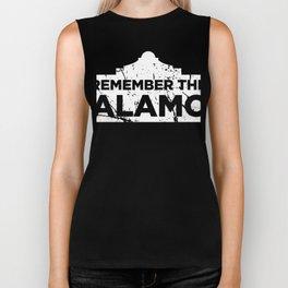 Distressed 1836 Texas Alamo Biker Tank