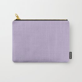 Pastel Lilac Carry-All Pouch