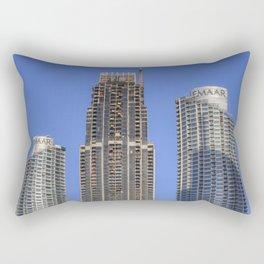 Emaar Properties Buildings Dubai Rectangular Pillow