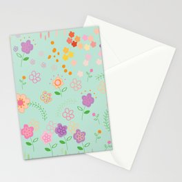 Pastel Garden Stationery Cards