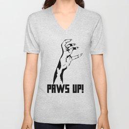 Paws Up! Unisex V-Neck