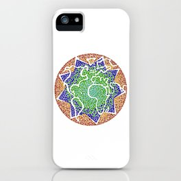 """""""The earth is but one country"""" iPhone Case"""