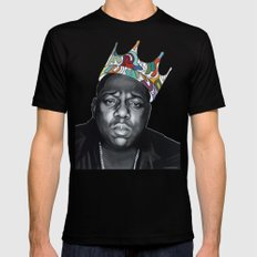 Notorious LARGE Black Mens Fitted Tee