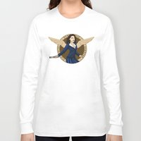 agent carter Long Sleeve T-shirts featuring Agent Carter by Arania