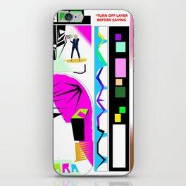 C Ara Bag iPhone Skin