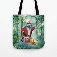 Funny Santa claus i Tote Bag