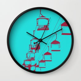Sky Ride Wall Clock