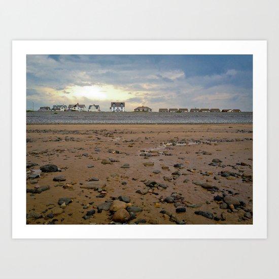 Walney Island Art Print