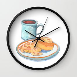 Southern Hygge: Bisuits n' Coffee Wall Clock