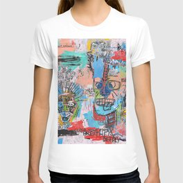 Close your eyes and breathe deeply T-shirt