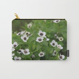Dwarf cornel (bunchberry) Carry-All Pouch