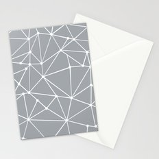 Ab Out Spots Grey Stationery Cards