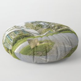 Palácio de Cristal Floor Pillow