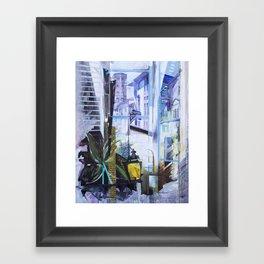 Untitled 1 - (città toscana) Framed Art Print