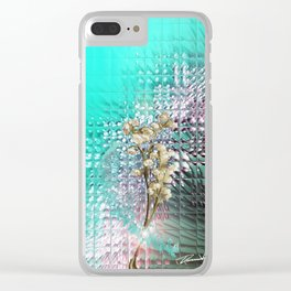 Dandelion 360 Clear iPhone Case
