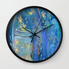Ball O'Fire Wall Clock