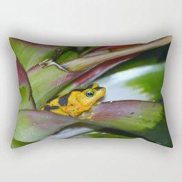 Panamanian Golden Frog Rectangular Pillow