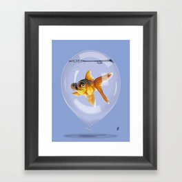 Inflated (Colour) Framed Art Print