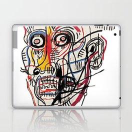 Basquiat Crazy Head Laptop & iPad Skin