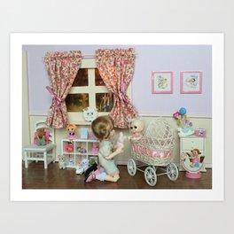 ** Little girl's room ** Art Print