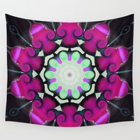 neon Wall Tapestries featuring Neon by IowaShots