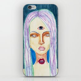 I See And You Will Hear Me iPhone Skin