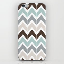 Seaside Chevron iPhone Skin