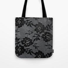 Romance in  Black & White Tote Bag