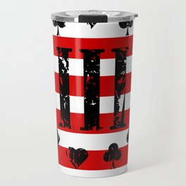 Three Percenter Aces USA Flag Travel Mug