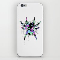 spider iPhone & iPod Skins featuring SPIDER by maivisto
