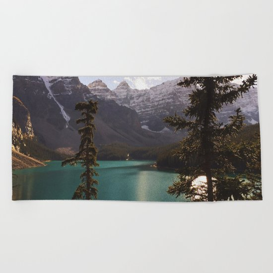 Reflections / Landscape Nature Photography Beach Towel