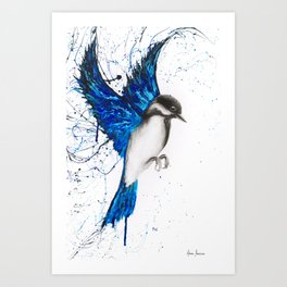 Bird Drawing Art Print