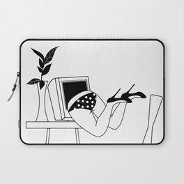 Drowning in The Digital World #society6 #buyart #lifestyle Laptop Sleeve