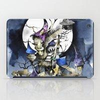 nightmare before christmas iPad Cases featuring The nightmare before christmas by Sandra Ink