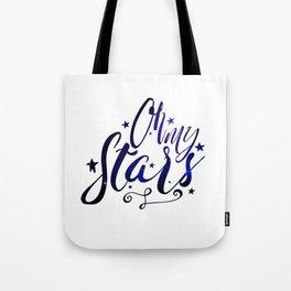 Oh My Stars | Inverse Tote Bag