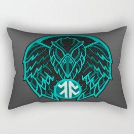 Absit Omen Logo Rectangular Pillow