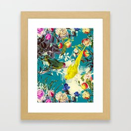 Tropical birds in the nature - 010 Framed Art Print