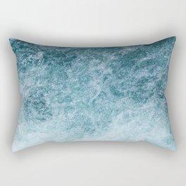 Mountain Waters II Vertical (Norway) Rectangular Pillow