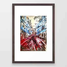 D.R. Pho. Framed Art Print