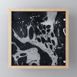 Marble Love 002 Framed Mini Art Print