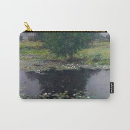 Willard Metcalf - Pond Lilies Carry-All Pouch