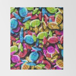 Candy Galore Throw Blanket