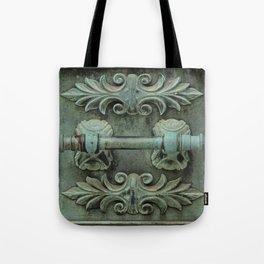 Copper door knob Tote Bag