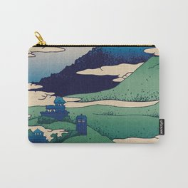 Doctor Who Mount Fuji - Mont Fuji - Tardis Carry-All Pouch