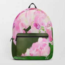 Pink Blossom Hydrangea Backpack