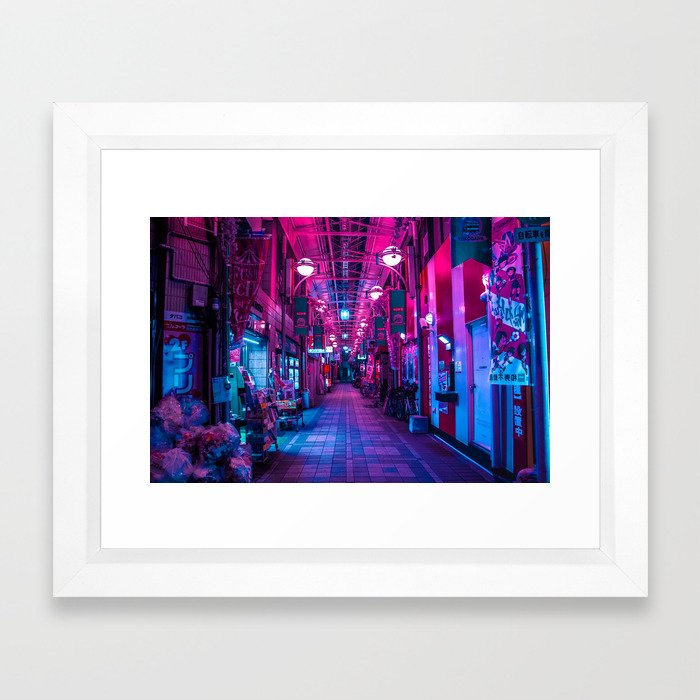 Entrance to the next Dimension Framed Art Print