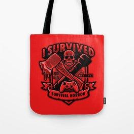 I Survived Survival Horror Tote Bag