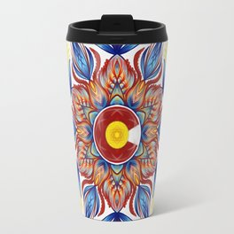 Colorado Mandala  Travel Mug