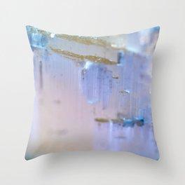 Selenite Throw Pillow