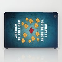 fargo iPad Cases featuring Fargo Fish by D-fens